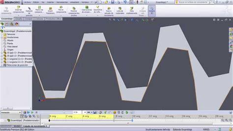 tutorial de solidworks 2014 tutorial solidworks simulaci 243 n de engranajes youtube