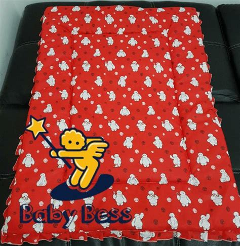 Selimut Bed Cover Bess by Jual Selimut Bayi Bedcover Motif Baymax Di Lapak Baby Bess