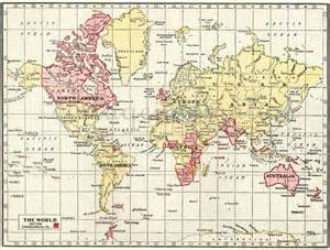 World Map 1950 by 1950 Vintage Wall Map Of The World Geographical World Atlas