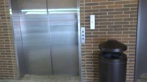Mineola Parking Garage by Excelsior Hydraulic Elevator Winthrop Hospital Parking
