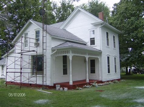 ugly house ugly house before after painting finish work picture post contractor talk