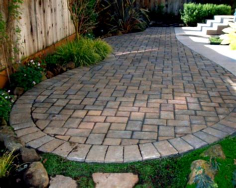 Lowes Pavers For Patio Home Landscaping Paver Patio Designs Diy How To Make Backyard Design With White Tile Brick