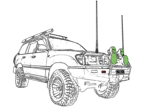 4x4 Sketches by 4x4 Drawings Pictures To Pin On Pinsdaddy