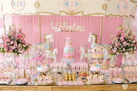 karas party ideas enchanted carousel birthday party