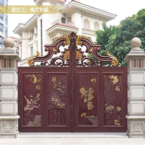 china custom double entry doorwrought iron gateiron main