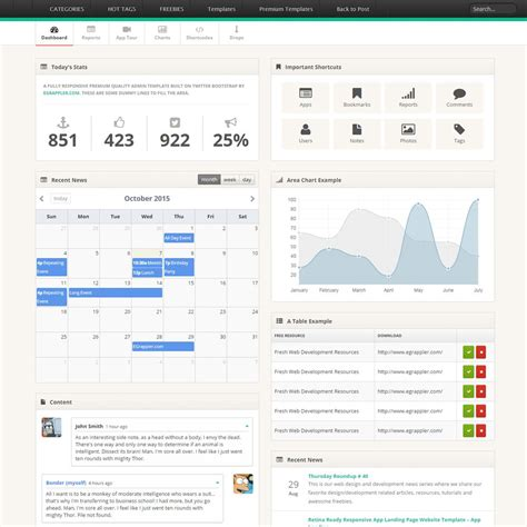 admin starter dashboard theme tree bootstrap template templatev bootstrap 3 admin and dashboard template