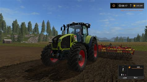 Ls For by Claas Axion 930 For Ls17 Farming Simulator 2017 Mod Ls