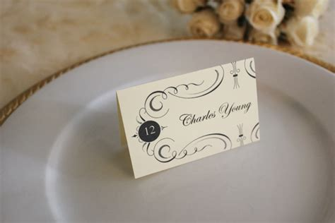 Template To Print Wedding Place Cards by Free Printable Place Cards The Budget Savvy