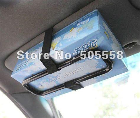 Tempat Tissue Mobil Visor Storage Holder Tissue Organizer Bag Visor free shipping car sun visor tissue paper box holder auto seat back accessories hold clip in