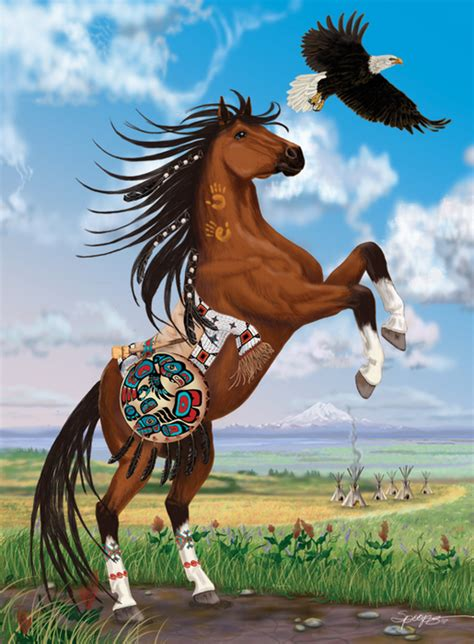 indian horse wallpaper wallpapersafari