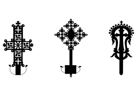 ethiopian cross tattoo designs crosses
