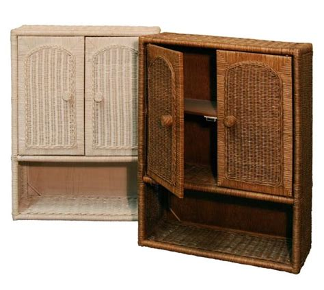 Wicker Bathroom Cabinet Wicker Bathroom Wall Cabinet Home Furniture Design