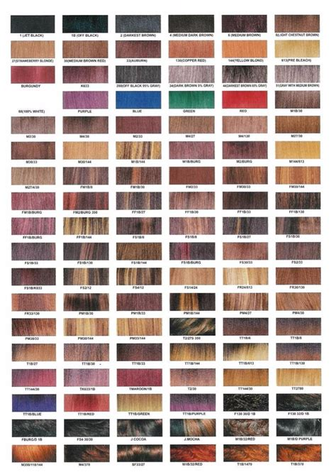 redken hair color redken shades hair color chart shades of hair color