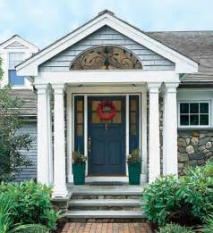 Front Door Portico Six Kinds Of Porches For Your Home Suburban Boston Decks And Porches