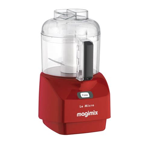 Kitchen Knives Review Uk magimix mini chopper food processor in satin red or black