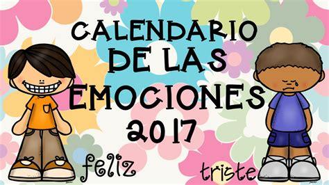 Calendario Por Meses 2017 Para Imprimir Gratis Calendario 2017 Para Trabajar Las Emociones 7