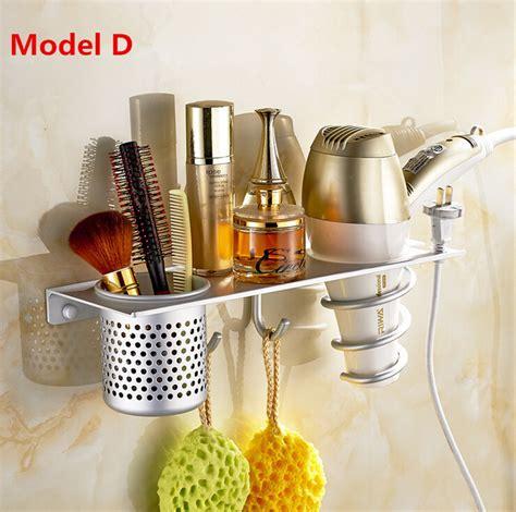 Hair Dryer Holder Big W aliexpress buy 4 type brand space aluminum hair dryer rack durable wall mounted hair dryer