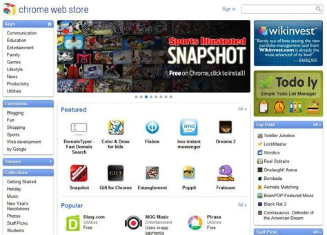 themes chrome web store google inaugure son chrome web store