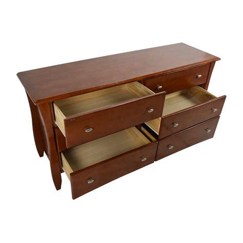 6 drawer cherry wood dresser 50 off wooden 6 drawer dresser in cherry wood color