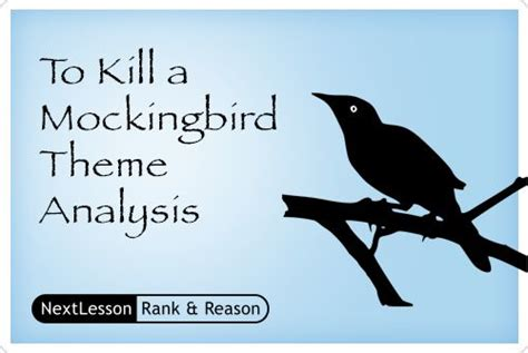 to kill a mockingbird themes analysis pin by nextlesson inc on common core ela projects