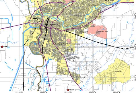 map of sacramento sacramento map free printable maps