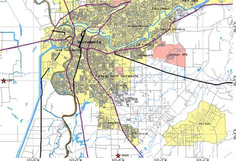 printable sacramento area map sacramento map free printable maps