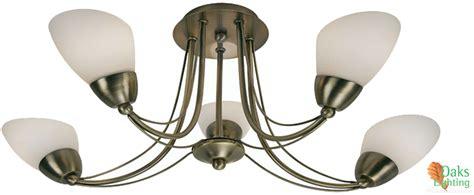 oaks lighting altair 5 light semi flush ceiling light