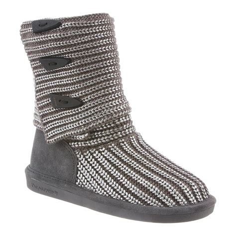 knit bearpaw boots bearpaw knit metallic 14 inch s boots