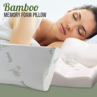 I Pillow Memory Foam by Contoured Bamboo Memory Foam Pillows Buy Memory Foam Pillows