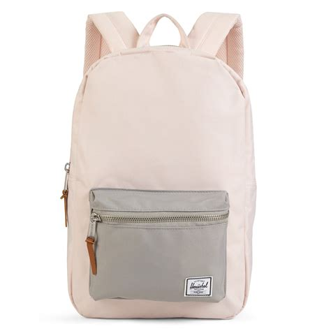light pink herschel backpack settlement mid volume light pink backpack burgundy