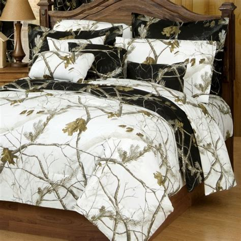 camo bedding set ap snow and black camo comforter sets kimlor mills