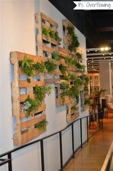 wandgarten innen decorando con artica jardines verticales de pared creativos