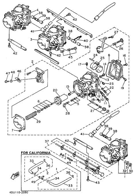 xj 600 wiring diagram wiring diagram and schematics