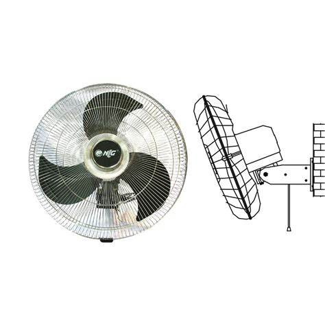 Kipas Angin Blower Dinding nlg wall powerful fan kipas angin tempel dinding cwf