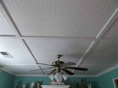 Wainscoting On Ceiling by Living A Cottage Beadboard Ceiling