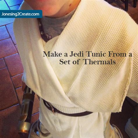 sewing pattern jedi tunic the gallery for gt how to make a homemade jedi costume