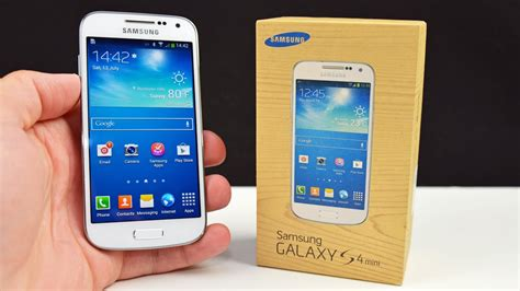 i samsung galaxy s4 samsung galaxy s4 mini unboxing review