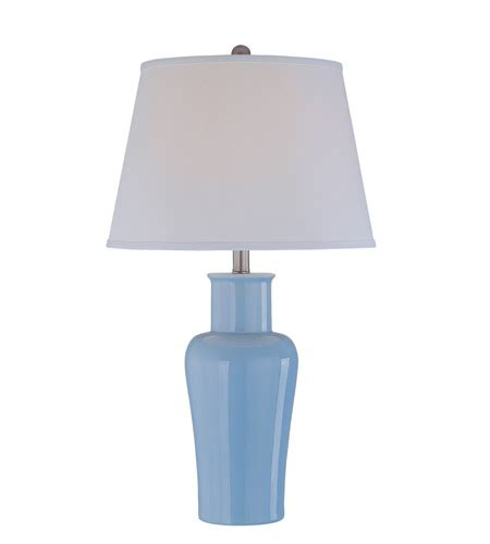 blue and white table ls lite source evelia 1 light table l in light blue with