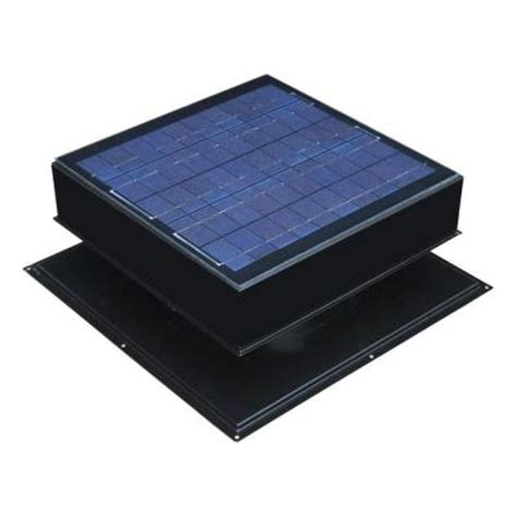 remington solar 30 watt 1550 cfm black solar powered attic