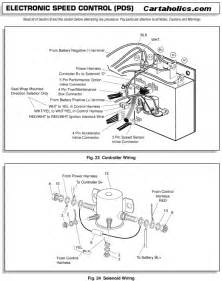 golf cart 36 volt ezgo battery wiring diagram car wiring diagrams