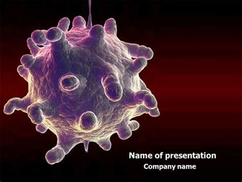 templates powerpoint virus virology powerpoint templates and backgrounds for your