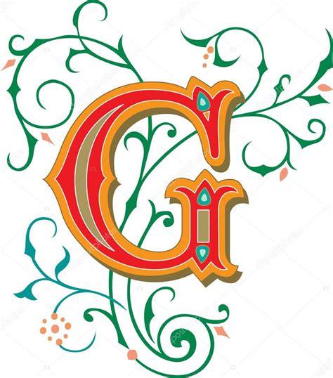 lettere dell alfabeto decorate splendidamente decorate alfabeti inglesi lettera g