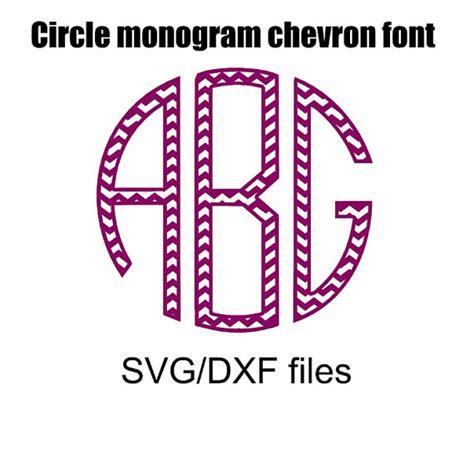 chevron pattern font free download circle monogram chevron pattern font svg and by