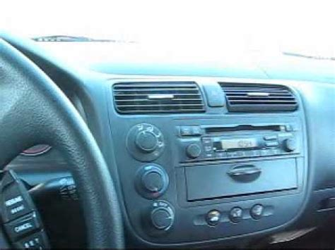 old car owners manuals 2004 honda civic electronic toll collection how to install a new radio in a 2004 honda civic 1 of 3 youtube