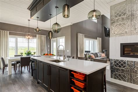 modern kitchen island lighting in canada kitchen island lighting updates a country home