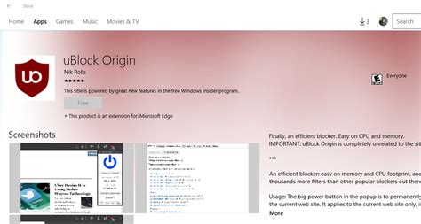 ublock for edge windows 10 ublock edge windows 10 download install ublock origin ad