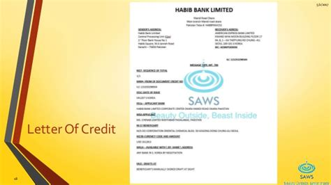 Letter Of Credit Types In Pakistan Home Appliances Saws Company Vti Okara