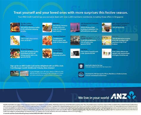 Anz Gift Card - anz credit card promotions 19 nov 2014
