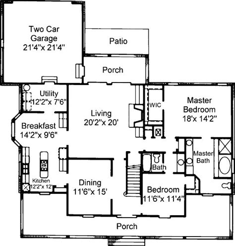 cottage style home floor plans southern style hip roof cottage plans 171 floor plans