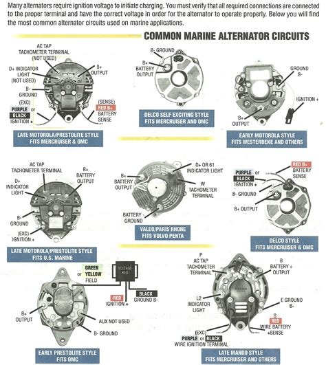omc marine alternator wiring diagram wiring diagram manual